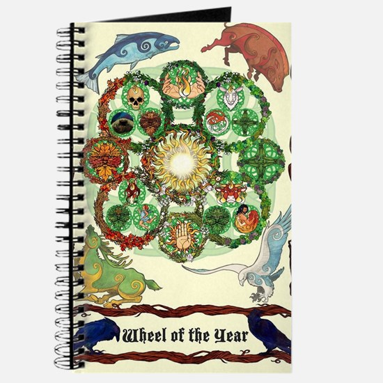 Cute Pagan wheel of the year Journal