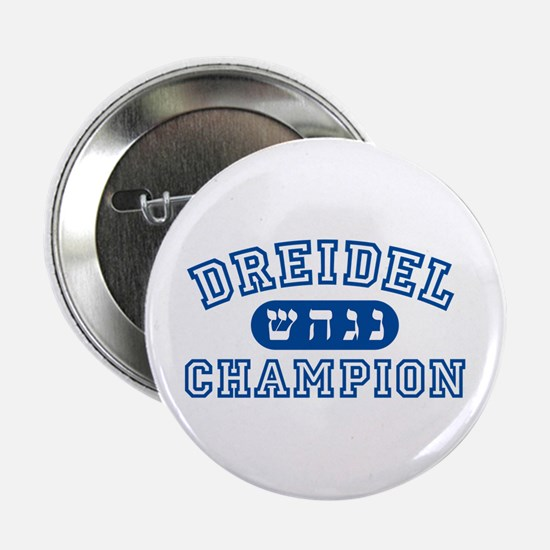 Dreidel Champion Button