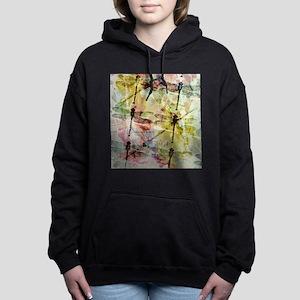 Artistic dragonflies Women's Hooded Sweatshirt