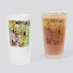 Artistic dragonflies Drinking Glass