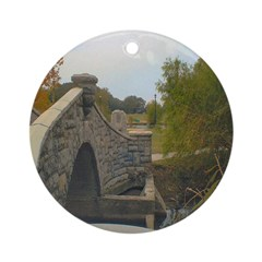 West End Bridge Ornament (Round)
