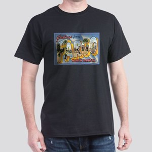 Fargo ND Poscard Dark T-Shirt