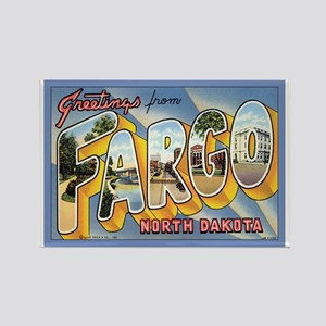 Fargo ND Poscard Rectangle Magnet