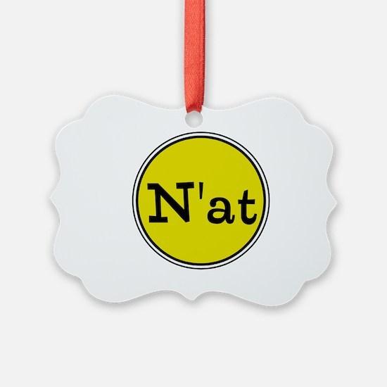 N'at, Pittsurghese, Pittsburgh slang Ornament