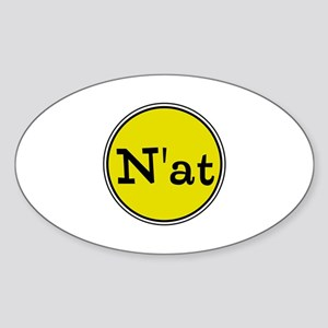 N'at, Pittsurghese, Pittsburgh slang Sticker