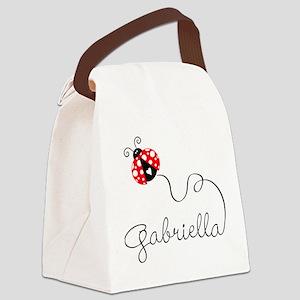 Ladybug Gabriella Canvas Lunch Bag