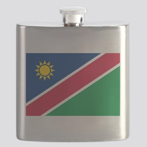 Flag of Namibia Flask