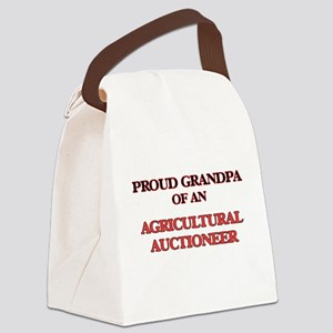 Proud Grandpa of a Agricultural A Canvas Lunch Bag