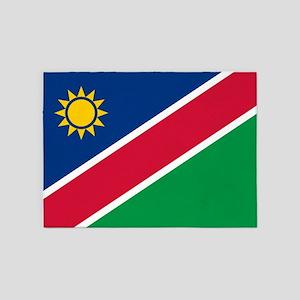 Flag Of Namibia 5'x7'area Rug