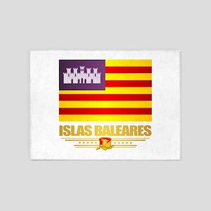 Islas Baleares 5'x7'Area Rug
