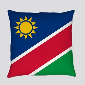 Flag of Namibia Everyday Pillow