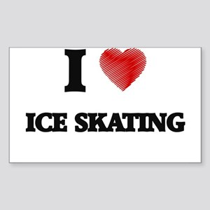 I love Ice Skating Sticker