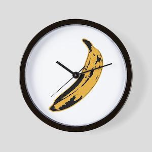 Velvet Underground Banana Wall Clock