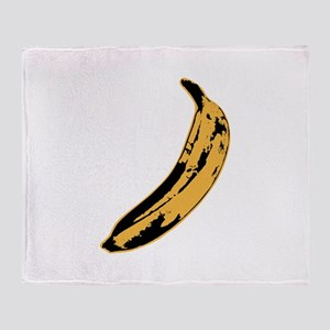 Velvet Underground Banana Throw Blanket