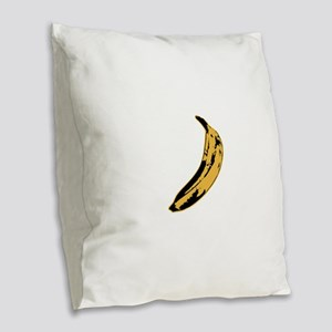 Velvet Underground Banana Burlap Throw Pillow