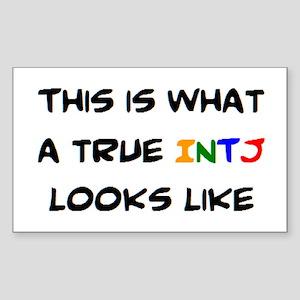 intj Sticker (Rectangle)
