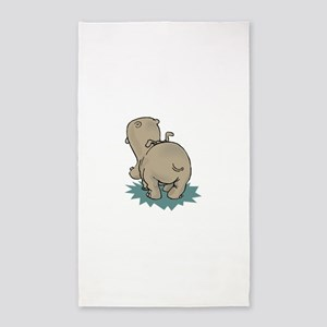 Hippo Rear Area Rug