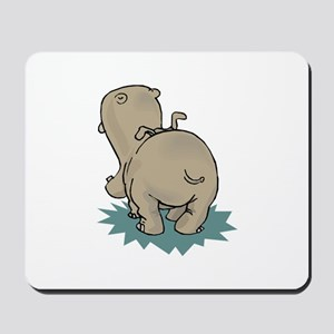 Hippo Rear Mousepad