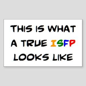 isfp Sticker (Rectangle)