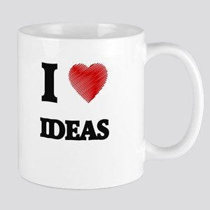 I love Ideas Mugs
