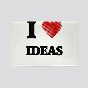 I love Ideas Magnets