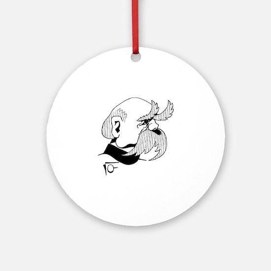 Otto von bismarck Round Ornament