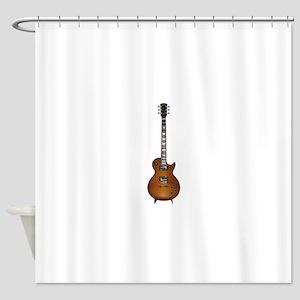 Gibson les Paul Shower Curtain