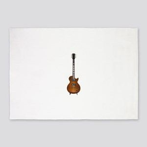 Gibson les Paul 5'x7'Area Rug