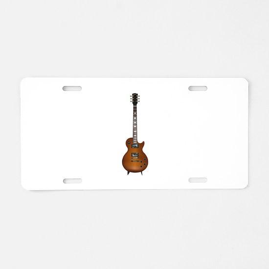 Gibson les Paul Aluminum License Plate