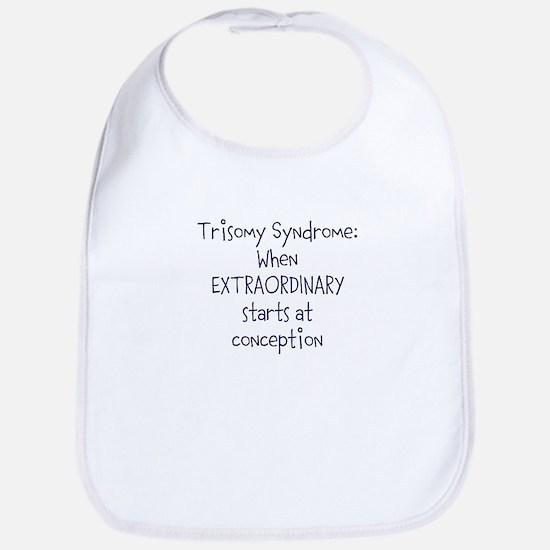 Trisomy Syndrome: Extraordinary Bib