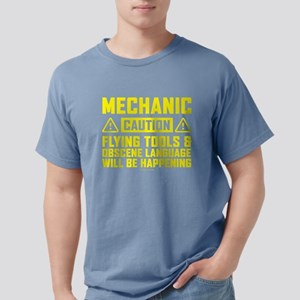 Caution Mechanic T-Shirt
