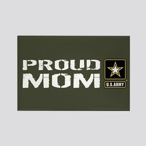 U.S. Army: Proud Mom (Military Gr Rectangle Magnet