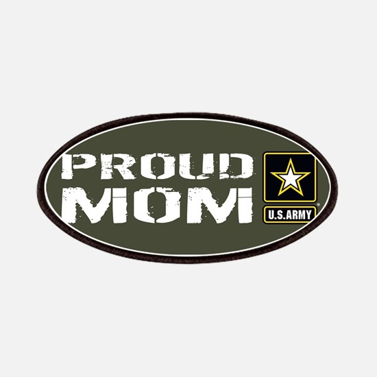 U.S. Army: Proud Mom (Military Green) Patch