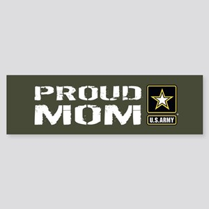 U.S. Army: Proud Mom (Military Gr Sticker (Bumper)