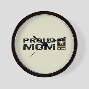 U.S. Army: Proud Mom (Sand) Wall Clock