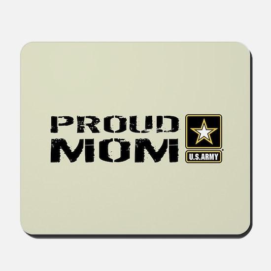 U.S. Army: Proud Mom (Sand) Mousepad