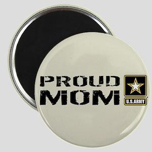 U.S. Army: Proud Mom (Sand) Magnet