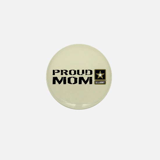 U.S. Army: Proud Mom (Sand) Mini Button