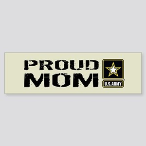 U.S. Army: Proud Mom (Sand) Sticker (Bumper)