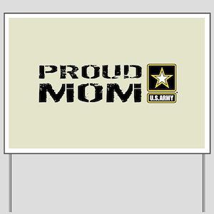 U.S. Army: Proud Mom (Sand) Yard Sign