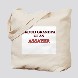 Proud Grandpa of a Assayer Tote Bag