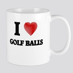 I love Golf Balls Mugs
