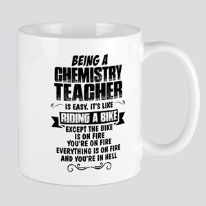 Being A Chemistry Teacher... Mugs