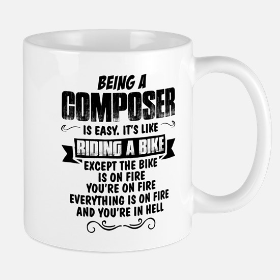 Being A Composer.... Mugs