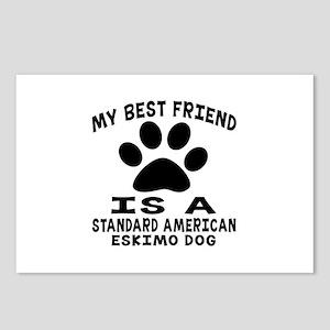 Standard American Eskimo Postcards (Package of 8)