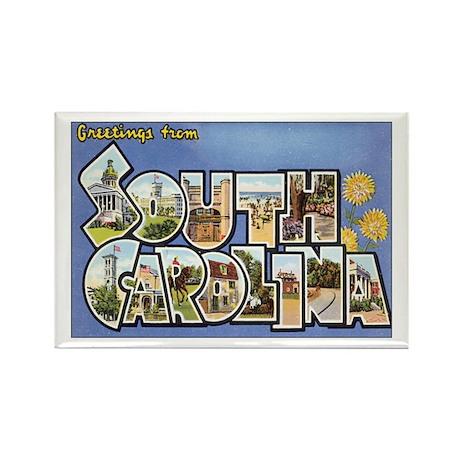 South Carolina Rectangle Magnet