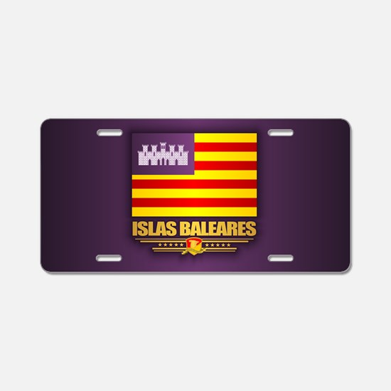 Islas Baleares Aluminum License Plate