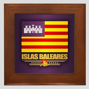 Islas Baleares Framed Tile
