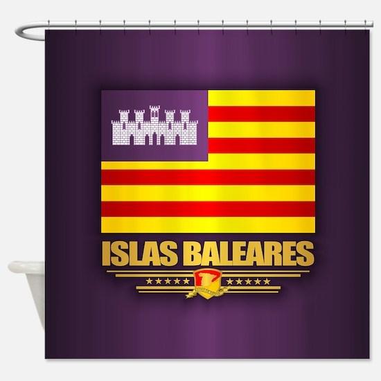 Islas Baleares Shower Curtain