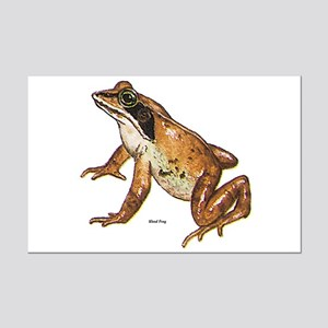 Wood Frog Mini Poster Print